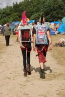 Punk Couple - Woodstock Festival Poland 2014 by Irinna7