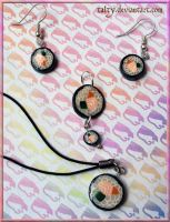 Sushi Jewelry Set by Talty