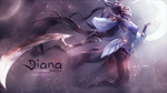 Lunar Goddess Diana - Custom Wallpaper ~ by hit3N by xMarquinhos