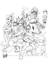 Chrono Trigger 2: GROUP by Juongie