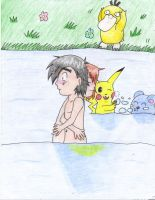 Skinny Dipping- AaMl- Request for johnnyd2 by BlueMew919