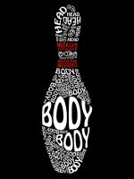 Bowling Pin Typography by Ellyism
