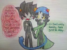 Karkat x Nepeta- Cancer by shayminlover492