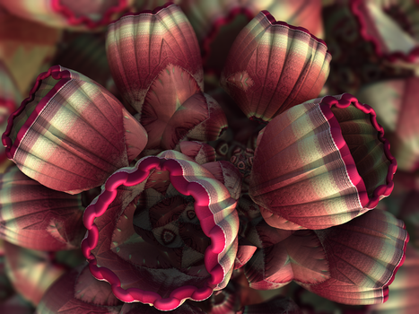 Patchwork Flowers -- Chain 00 Pong 386 by recycledrelatives