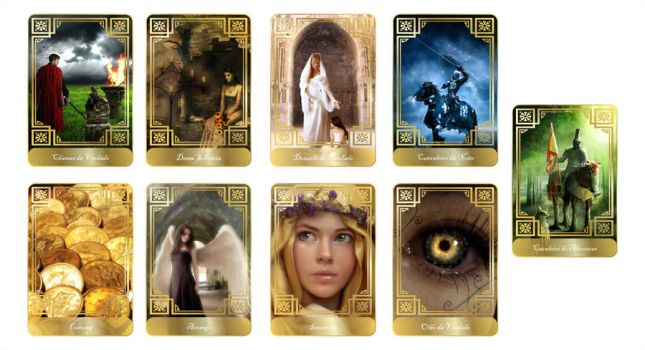 Tarot Cards by Markhal