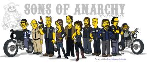 Sons of Anarchy / Simpsonized by ADN-z