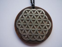 intricate full Flower of Life by jeanburgers