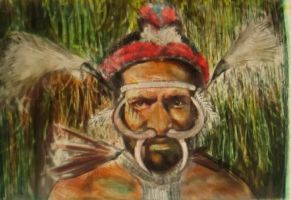 Etnias serie- dani tribe- papua Indonesia by AnnarXy