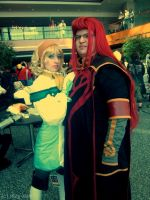 Youmacon 2011: Natalia and Asch by Ritzy-kun