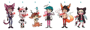 Mixed adopts (Points/Paypal) CLOSED by KuAdopts