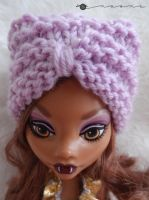 Turban hat for Monster high by kivrin82