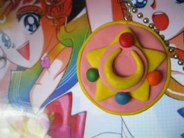 Sailor Moon Inspired Necklace by tanytany
