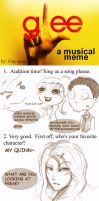 Glee a Musical Meme by SolitaryRoyalty
