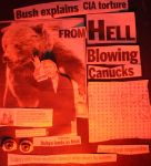 George Bush talks from HELL by KeswickPinhead