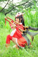 Bloodmoon Akali from League of Legends by michiko-mimika