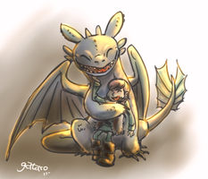 How to train your dragon by gataro