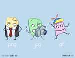 So .png, .jpg, and .gif walk into a bar... by julianfkelly