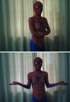 Spidey girl by mysexyzentai