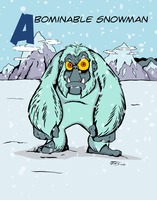 Abominable Snowman by PhilRood