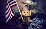 Danbo in the USA by AlexanderPompa