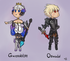 OdinSphere Cheebs by SilverRacoon