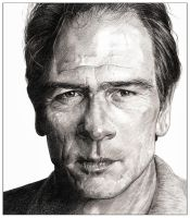 Tommy Lee Jones by kelso41