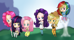 MLP: FRIENDSHIP IS MAGIC BETCH by amberc8