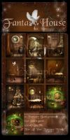Fantasy Home backgrounds by moonchild-ljilja