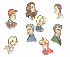 Les Miserables Characters (Movie Version) by TheRandomAnchovy