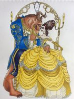 Beauty and the Beast by MissLynn95