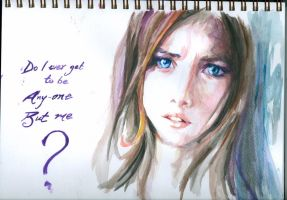effy/kaya water colour 1 by LizabetSullivan