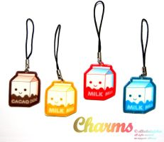 acrylic Charms part 1 by Greencherryplum