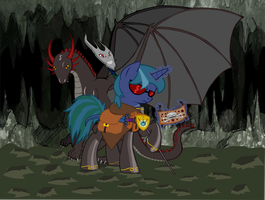 MLP FIM: My Oc as ''The Last Dragon Pony'' by RiskyTheArt