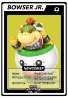 SSB4 Cards Bowser Jr. by GameAndWill