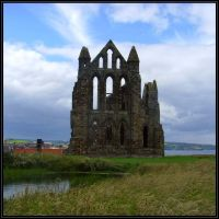 Whitby Abbey, Habour View by Jakari
