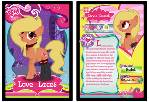 MLPFiM Trading Card Love Laces by Origamigirl1223