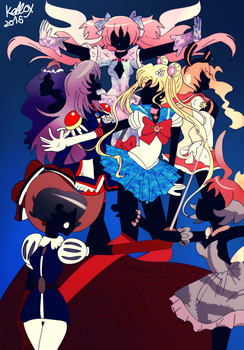 Magical Girl Knight Madness by Kell0x