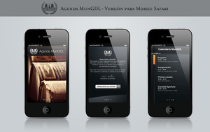 Mobile Website: MunGDL.com by dennisRVR
