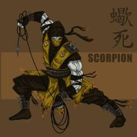Scorpion Redesign by darknight7