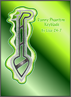 Danny Phantom Keyblade by Lisa-24-7