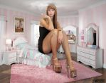 Tall Baltic Girl Bedroom By Lowerrider by lepapestmort