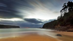 Sand of Wattamolla by MarkLucey