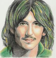 Georges Harrison by Someone-Else79