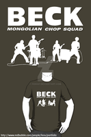 BECK: Mongolian Chop Squad t-shirt / Phone case by Fenx07