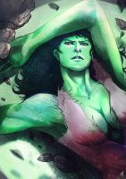 She-Hulk 2 by ellinsworth