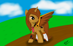 SteamTech Re-Design (background 1 with wings) by OtakuTheUnicorn