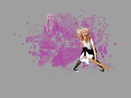 avril wallpaper by Chlotte