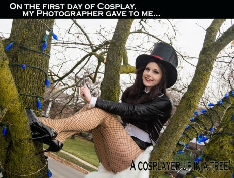 On the first day of Cosplay... by Lossien