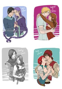 Couple Sketches by CristianaLeone