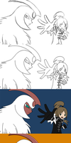 Ilona and Absol Timeline by Ilona-the-Sinister